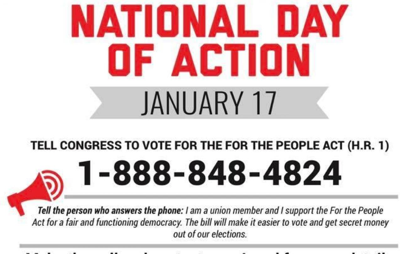 CWA National Day of Action January 17,2019